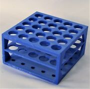 Plastic Rack 7 Mm To 100 Mm Holes Centrifuge Test Tubes Lab Bench Office Stand