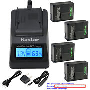 Kastar Battery Lcd Fast Charger For Gopro Ahdbt-302 Gopro Hd Hero3 Black Edition
