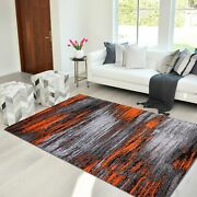 Area Rug Abstract Contemporary Modern Design Mixed Brush Home Decor Rugs 8x10