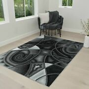 Rugs 8x10 Area Rug Abstract Modern Contemporary Geometric Design 5x7 Rug Carpet