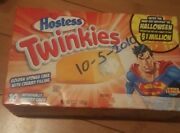 2010 Unopened Collectible Special Edition Superman Twinkies
