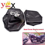 Pu Motorcycle Seat Cover Cushion Guard Waterproof For Honda Steed 400 Vlx400