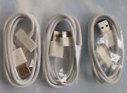 100 Count 30 Pin Usb Charging Data/sync Cable Cord For Iphone 4s 4g 3gs Ipad2
