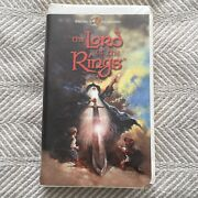 The Lord Of The Rings Vhs Video Tape Clamshell Ralph Bakshi Animation Thorn Euc