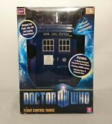 Rare Doctor Who Production / Factory Error Flight Control Tardis Mint In Box