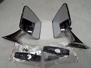 73 74 75 76 77 78 79 80 81 Chevy Truck Pair Chrome Outside Rectangle Mirrors