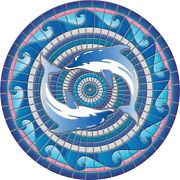 59 Decorative Pool Mat Mosaic Art 20+ Designs Easy To Install And Remove