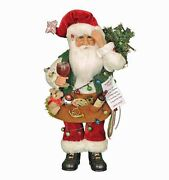 Christmas Decorations - Lighted Coping With The Holidays Santa Figurine