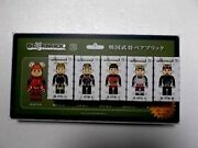 Be @ Rbrick Samurai 6pcs Full Comp Collection With Blister Board Japan Rare Cute