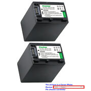 Kastar Replacement Battery For Sony Np-fh100 And Sony Dcr-sx40 Dcr-sx41 Dcr-sx50