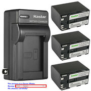 Kastar Battery Ac Wall Charger For Canon Bp-970g Bp-945 And Xh-a1s Hd Xh-a1se Hdv