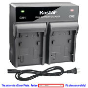 Kastar Battery Rapid Charger For Canon Bp-970g Bp-945 And Canon Gl1 Gl-1 Gl2 Gl-2