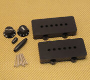 Pc-jazzkit-b Black Accessory Kit For Usa Fender Jazzmaster Guitar - Knobs/covers
