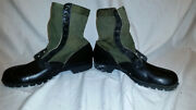 Cic Spike Protective 1960s Green Vietnam Hot Weather Jungle Boots 13 N Jj 342