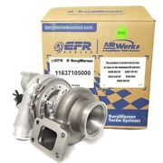 Borg Warner Efr 7163 Turbo 11637105000 W/ T3 .82 A/r 3 V-band And 2.5 Comp Hsg