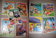 You Pick - Vintage Cartoon And Sesame Street Puzzles - 1977 Whitman And 1973 Wb