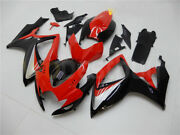 Red Black Injection Molding Abs Fairings For Suzuki 2006 2007 Gsxr 600 750 K6