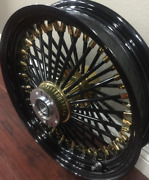 Fat Spoke Custom Color Rim Package For Harley And Indian