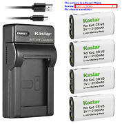 Kastar Battery Slim Charger For Canon Cr-v3 And Canon Powershot A60 A70 A75 A300