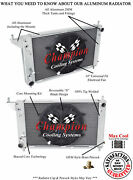 2 Row Best Cooling Champion Radiator W/ 14 Fan For 1996 Ford Mustang V8 Engine