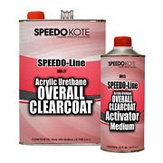 Automotive High Gloss Clear Coat Urethane Smr-21/25 41 Gallon Clearcoat Kit