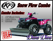 Kfi 48 Snow Plow Blade Mount Combo Kit Bombardier Quest, Traxster 500/650