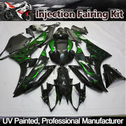 Injection Fairing Kit For Yamaha Yzf R6 2006 2007 Black Green Motorcycle Body