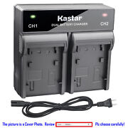Kastar Battery Ac Rapid Charger For Sony Np-qm71d And Sony Dcr-dvd301 Dcr-dvd91