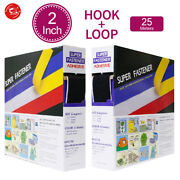 50mm2 Width Self Adhesive Tape Hook And Loop Sticky Backed Fastener