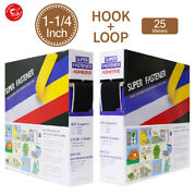 30mm1.2 Width Self Adhesive Tape Hook And Loop Sticky Backed Fastener
