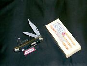Case Xx 22087 Knife Reverse Dog Leg Jack Usa Made 1999 3-3/8 Closed W/package