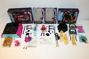 Monster High 13 Wishes Lot Party Lounge Desert Frights Oasis Howleen Spectra Cle