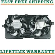 Radiator And Condenser Fan For Chevrolet Fits Lumina Monte Carlo Gm3115220