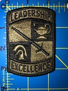 U.s. Army Rotc Leadership Excellence Patch Us Reserve Officers' Training Corps