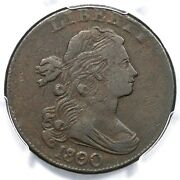 1800/79 S-194 R-3 Pcgs Vf 25 Draped Bust Large Cent Coin 1c