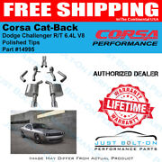Corsa Touring Cat-back Polished Tips 2015-2017 Charger R/t Scat Pack 6.4l 14995