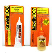 Blackstone Hon3 Best Loco Lubricants Labelle Oil/ptfe Grease Lubes 107+106