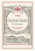 French Kitchen Dish/tea Towel Wine Label Chateau Gazin Cotton Made In France