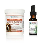 Canine Comfort And Herbal Anti 2 Part Combo | Promotes Normal Stools