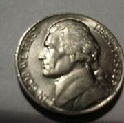 1988 D Jefferson Bu Nickel Five 5 Cents Tough In This Condition Luster