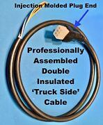 Western Fisher Snow Plow Replacement 6 Pin Truck Side Cable And Plug Assy Unimount