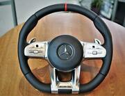 Mercedes-benz Amg Performance 2019 Steering Wheel With Red Stitching