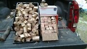 Hickory Wood Chunks/slices For Bbq/grilling/wood Smoking Free Shipping