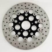 Stainless 11.8 Front Floating Mesh Rotor For 08-13 Touring And 06-09 Dyna Models