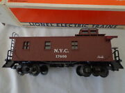 Lionel O And 027 New York Central Wood Sided Caboose