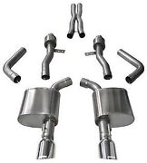 Corsa 14995 Sport Cat-back Exhaust For 2015-2019 Dodge Charger Rt Scat Pack 6.4l