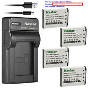 Kastar Battery Slim Charger For Casio Np-70 Bc-70l And Casio Exilim Zoom Ex-z250be