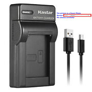Kastar Battery Slim Charger For Casio Np-70 Bc-70l And Casio Exilim Zoom Ex-z250bk