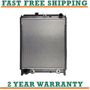 Radiator For Hino 238 258lp 268 With Side Plates And Mounting Bracket 530013