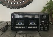 Soundesign Stereo Amplifier Receiver 5850 Cassette Player/recorder Am Fm Radio